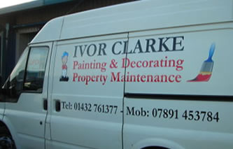 Hereford Van Graphics