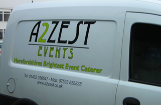 Customised van graphics