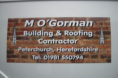 Magnetic signs produced in Herefordshire
